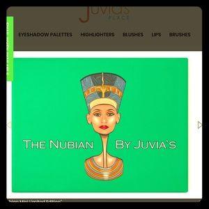 NWT. Juvia's Place-The Nubian Eyeshadow Palette.
